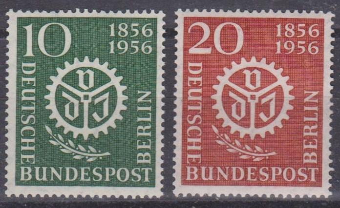 Germany  #9N140-1 MNH VF CV $6.15 (A8712)
