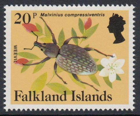 Falkland Islands - 1984 Insects and Spiders (20p) (MNH)