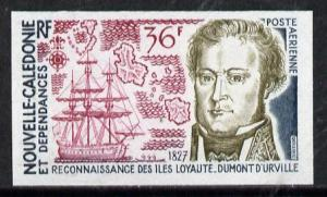 New Caledonia 1974 Discovery 36f (Dumont d'Urville, Ship ...