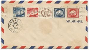 France Scott #C152 on First Day Cover Air Mail May 9, 1949