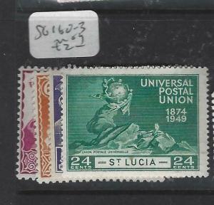 ST LUCIA  (P2905B)   UPU  SG 160-3   MOG