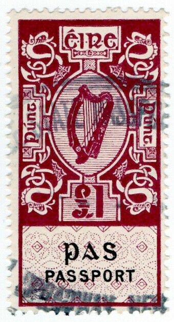(I.B) Ireland Revenue : Passport £1