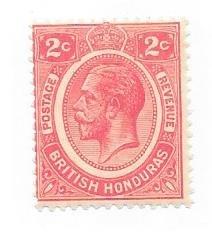 British Honduras #94  2c George V (M)  CV $12.00