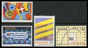 Australia 602-605 Mint (NH)