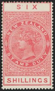 New Zealand Scott AR37 Variety 4 Gibbons F136 Mint Stamp