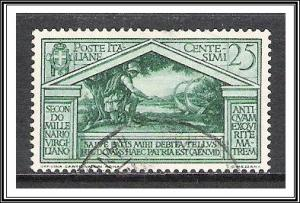 Italy #250 Virgil Issue Used