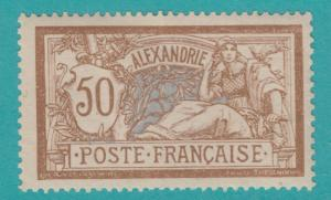 French Offices: ALEXANDRIA EGYPT 27 1902 MINT HINGED OG  NO FAULTS EXTRA FINE !