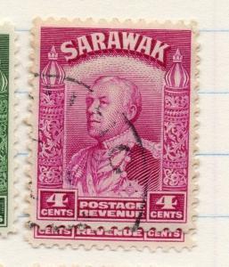 Sarawak 1934 early Brooke Issue Fine Used 4c. 196176