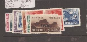 South West Africa SG 114-9, 121-2 MOG (9ccm)
