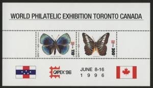 Netherlands Antilles 768a MNH Butterflies