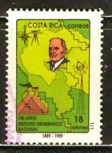 Costa Rica, 1989: Sc. # 421; O/Used Cpl. Set