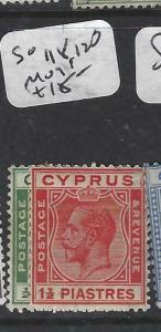 CYPRUS  (P0406B)  KGV  SG 118, 120     MOG
