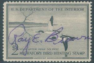 US Scott #RW23 Used, VF