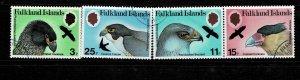 Falkland Island 1980 Birds of Prey Used