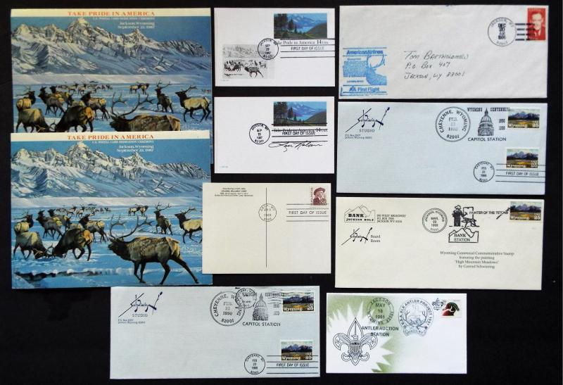 US Collection of Wyoming Covers