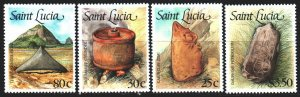 St Lucia. 1988. 913-16. Products of the Indians. MNH.
