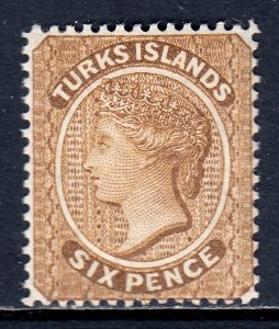 Turks Islands - Scott #46 - MH - SCV $4.00