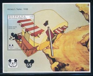 Disney Grenada - Souvenir Sheets 65th Anniversary MNH #2261 (1993)