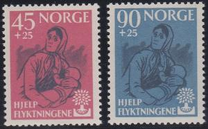 Norway B64-B65 MNH (1960)