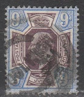 Great Britain #136 F-VF Used CV $70.00  (A3006)