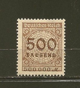Germany 280 Numeral MNH