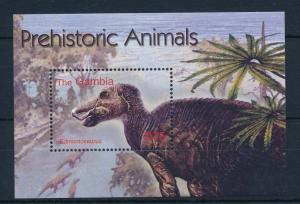 [32309] Gambia 2003 Pre Historic Animals Dinosaurs MNH Sheet