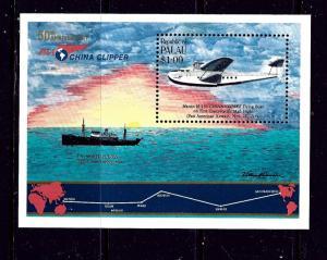Palau 94 MNH 1985 China Clipper Anniversary S/S