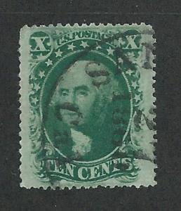 35 Used, XF 10c. Washington,  Type V, scv: $55, Great Margins,
