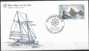 1977 Monaco 1050 The Career of a Fisherman L'Hirondelle I FDC