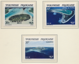 French Polynesia Stamps Scott #367 To 369, Mint Never Hinged - Free U.S. Ship...