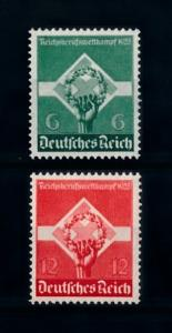 [70496] Germany Reich 1935 Young Workers Mi. 571-572 MNH OG