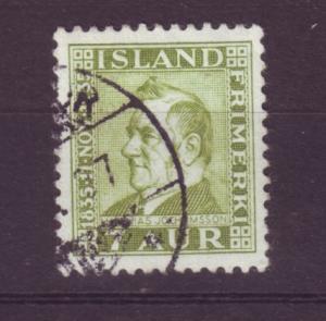 J19144 Jlstamps 1935 iceland used #197