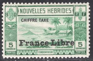 NEW HEBRIDES-FRENCH SCOTT J11