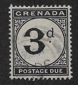 GRENADA SC# J14   FVF/U 1921