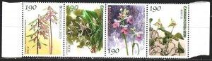 South Korea. 2003. 2336-39. Flowers, flora. MNH.