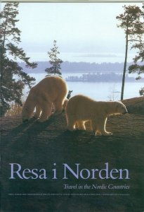 Sweden. Book/Folder 1991,22 Pages. Travel In The Nordic Countries.With Stamps.