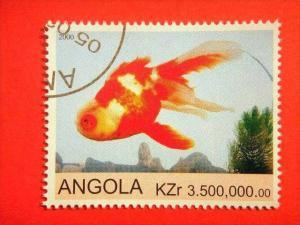 ANGOLA, 2000, Fish CTO