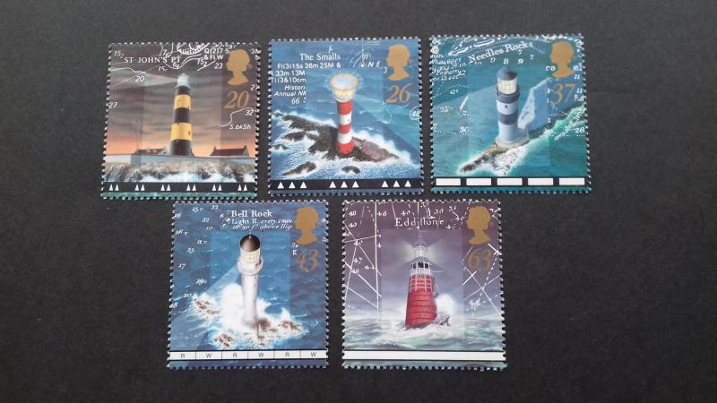 Great Britain 1998 Lighthouses Mint