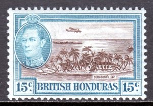 British Honduras - Scott #121 - MH - SCV $2.25