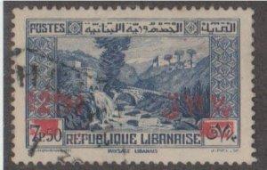 Lebanon Scott #150 Stamp - Used Single