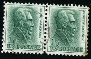 United States #1209, USED PAIR - 1963 - USA581