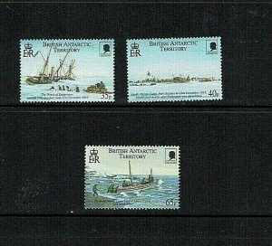British Antarctic Territory: 2000 Shackleton's Trans-Antarctic Exped.  MNH set