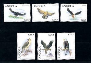[94177] Angola 2000 Birds of Prey Eagles  MNH