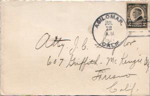 United States California Asilomar 1924 4a-bar  1914-1935  2c Harding Memorial...