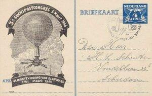 1944 Netherlands, Nederland, 3° Luchtpostcongres 5 Maart 1944