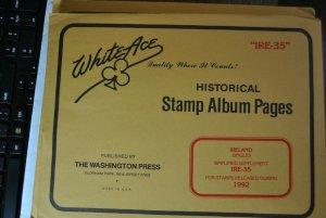 Minkus Stamp album pages for Ireland 1992