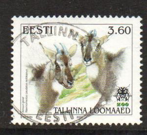 Estonia Sc 396 2000 Tallinn Zoo stamp used