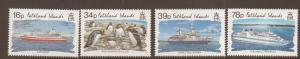 FALKLAND ISLANDS SG687/90 1993 TOURISM MNH