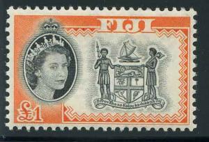 Fiji Scott 175 High Value of Set Arms of Fiji MNH