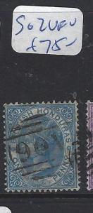 BRITISH HONDURAS (P0104B)  QV  1D  SG 2  VFU